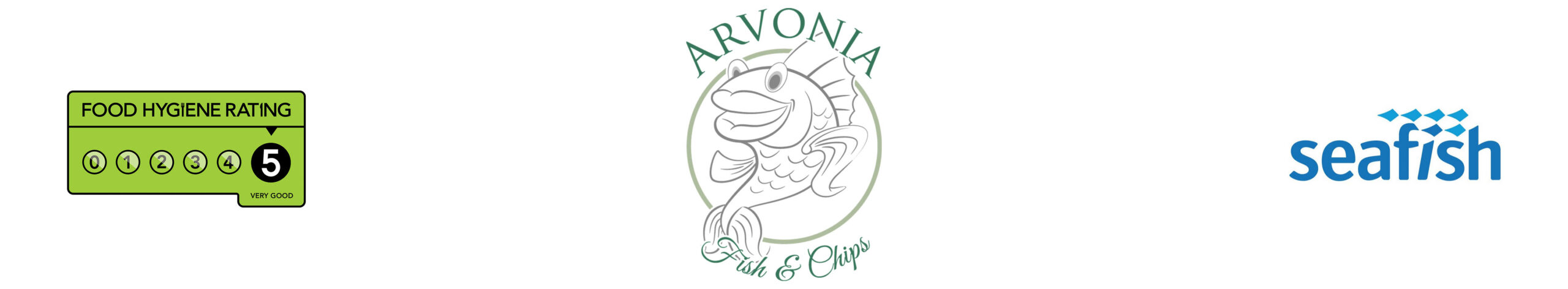 Arvonia Fish & Chips Logo